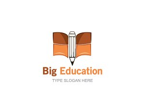 Big Education Logo Template