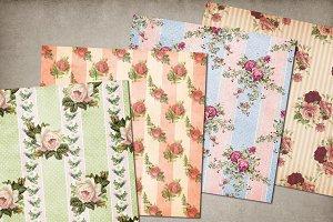 Antique Rose Wallpaper Backgrounds