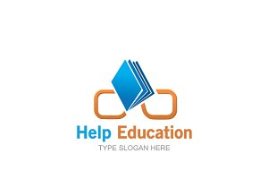 Help Education Logo Template