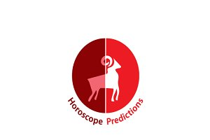 Horoscope Predictions Logo Template