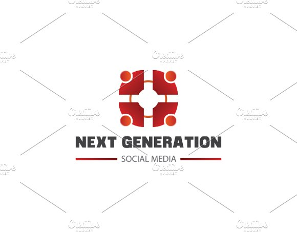 Next Generation Logo Template