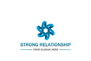 Strong Relationship Logo Template