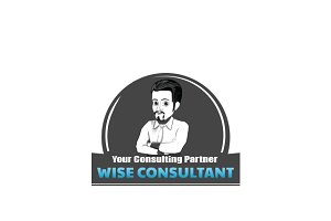 Wise Consultant Logo Template