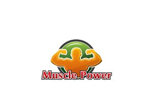 Muscle Power Logo Template