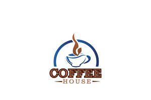Coffee House Logo Template