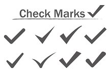 Check Marks Icons