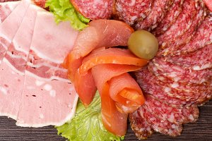 Arrangement of Cold Meats