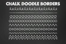Clip Art Chalk Doodle Borders