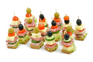 Arrangement of Appetizers