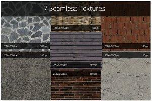 7 Seamless Textures