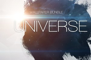 Universe wallpaper bundle
