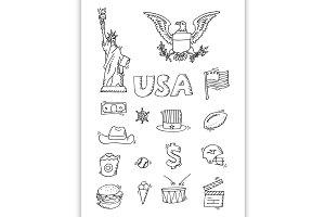 American Doodle set