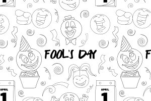 Fools day pattern- 1 April