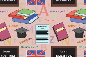 Learn english concept pattern