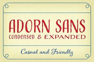 Adorn Sans Condensed