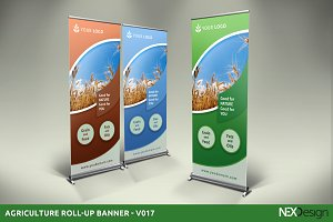 Agriculture Roll-Up Banner - SK