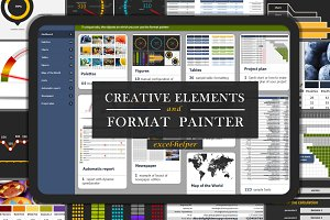 Creative Elements and Format Painter