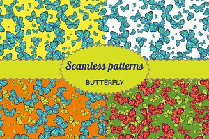 "A collection of patterns ""Butterfly"""