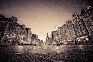 Wroclaw market square.