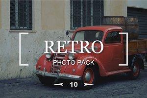 10 retro stars - Photo Pack