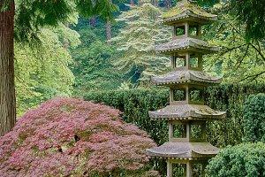 Stone Pagoda Lantern 2