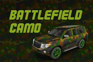Battlefield Camo - DLER | Vector