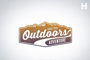 Logo Template - Vintage Outdoors