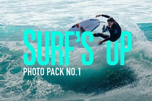 Surf's Up Photo Pack No.1