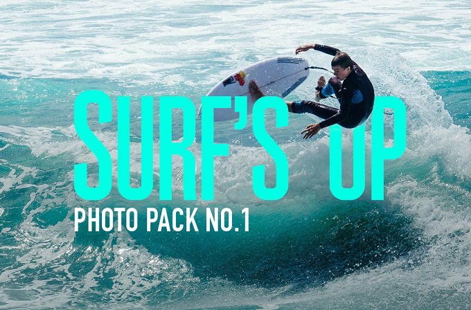 Surf's Up Photo Pack No.1 - Sports