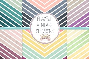 Vintage Chevron Papers