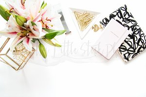 PLSP #369 Styled Desktop Stock Photo