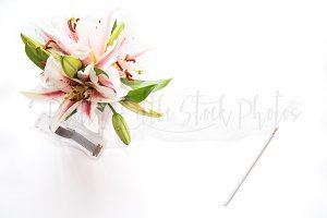 PLSP #371 Styled Floral Stock Photo