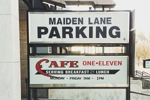 Parking and Cafe