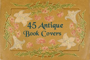Antique Book Covers