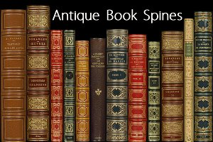 Antique Book Spines