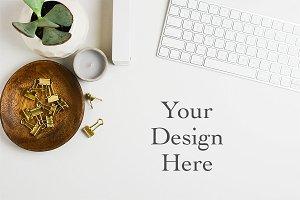 Minimalist Styled Desktop