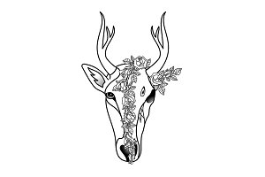 Deer Tattoo Collection