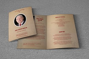 Funeral Program Template-T440