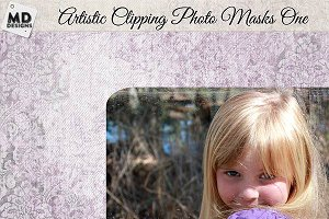 Photo Clipping Masks Set 1