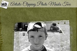 Photo Clipping Masks Set 2