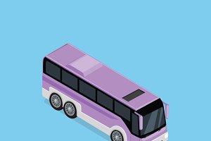 Isometric Bus Icon