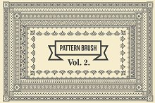 Vintage Borders Pattern Brushes 2