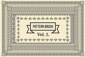 Vintage Borders Pattern Brushes 2