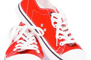 Red Gym Shoes