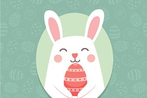 Easter Bunny Ears Vector