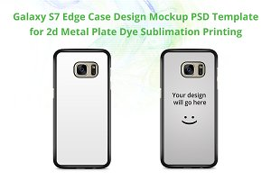 Galaxy S7 Edge 2d IMD Case Mock-up