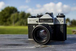 Old Zenit Camera