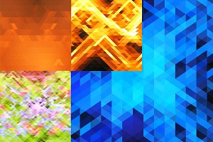 Abstract rhombuses background