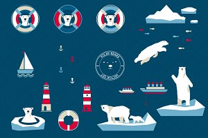 Polar Bears & Nothern sea