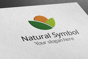 Natural Symbol Logo